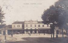 CARTE POSTALE ANCIENNE CPA CHARTRES LA GARE (1913)