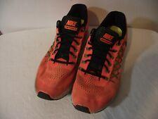 Nike Mens Size 12 Air Zoom Pegasus Orange Athletic Running Shoe 749340-803 Used