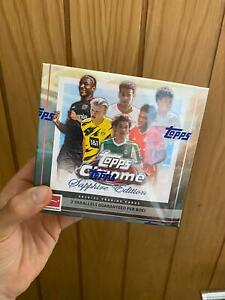 2020 - 2021 Topps Bundesliga Chrome Sapphire Sealed Box