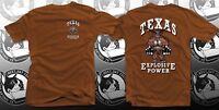 Explosive Power University of Texas Longhorns Workout T shirt S, M, L, XL, XXL