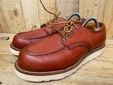 Vtg Red Wing 39030 Oxford Moc Toe Work Boots Sz 7  D