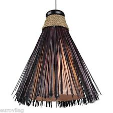 AMIN Deckenlampe Pendelleuchte BALI Indonesien LAMPE handgefertigt 30cm hoch top