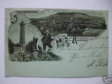 AK Annaberg i. Sachsen 1898 Mondschein
