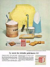 PUBLICITE ADVERTISING 024   1959   LU   petit beurre