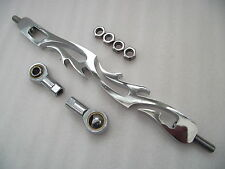 Chrome alloy shift link gear link custom or Harley linkage 03