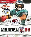 Madden Nfl 2006: Prima Official Game Guide by Prima ~New Sealed