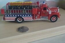 Corgi Mack B Pumper Baltic CT Stars And Stripes 1:50 Fire Truck US52404