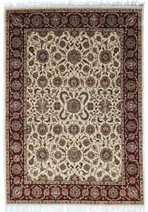 9x12 ft Hand Knotted Floral Design Wool Handmade Carpet Floor Area Rug