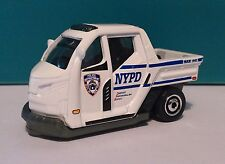 NYPD  Matchbox. DJY03. Loose, Fresh form Box! Meter Maid Police Vehicle.