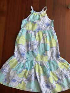 NWOT Gymboree Floral Sparkle Maxi Dress Size 10