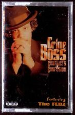 Crime Boss-Conflicts & Confusion LP CASSETTE RAP 1997 SEALED OOP