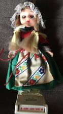 Scandinavian Doll No. 139 With Name Card Base Stand 8 Inches Tall