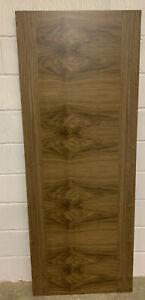 "JELD-WEN Walnut Pre-Finished Internal Fire Door-FD30,(78""x30""x35mm),NEW-(189)."