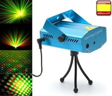 Proyector laser discoteca holográfico luz led foco iluminacion Fiesta DJ Sonido