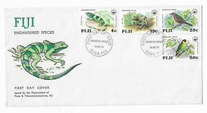 (16) Fiji 1979 Endangered Species FDC