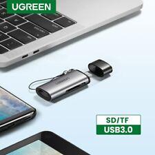 UGREEN SD Card Reader USB C Memory Card Adapter UHS-I Fr MacBook Pro Samsung S10