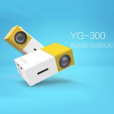 YG300 Mini Projector 3D HD LED Home Theater Cinema 1080P AV USB HDMI Projector