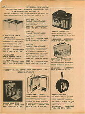 1961 ADVERT Barbie Train Case Hat Box Doll Case Trunk Pony Tail