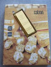 Briquet rechargeable lingot d'or marque Colton