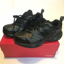 Mens New Balance 624 Shoes Size 7.5 6E Black Lace NEW MX624AB2