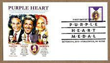 2019 PURPLE HEART MEDAL STAMP FIRST DAY CANCEL ~ PANDA CACHET
