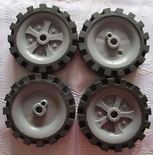 K'NEX Hub/Pulley Medium & K'NEX Tyre Medium  X 10 Pieces - KNEX SPARES & PARTS