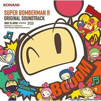 Super Bomberman R Original Soundtrack Japan Konami Switch Game Music CD NEW