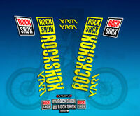 PEGATINAS STICKERS  FORK ROCK SHOX YARI 2018 AM175 AUFKLEBER DECALS ADESIVI
