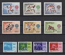 J.O de 1968 et 1972  Royaume du Maroc timbres anciens neufs  /T421