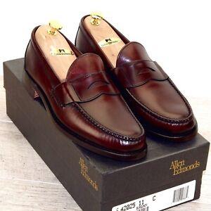 * NIB * $375 Allen Edmonds PAXTON 11 C ( fits 10.5 D or E ) new Shoe Trees Bags