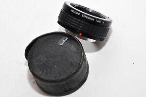 Pentax Asahi Camera Helicoid Extension Tube K, Near Mint w/ Case appears unused