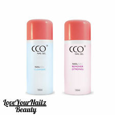 CCO - AUTHENTIC NAIL GEL POLISH UV/LED SOAK OFF REMOVER + CLEANSER 75ml 150ml