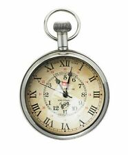 Maritime Pocket Watch with Two Time Information, Titanic Watch,Marine