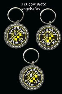 columbus crew Sc soccer keychainsparty favors lot of 10 great gifts loot bag