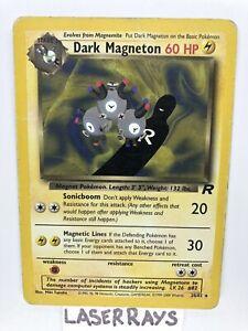 Dark Magneton Team Rocket Non Holo MP! 28/82 Ultra Rare Vintage Pokémon Card