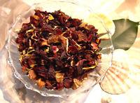 Apricot Supreme Tisane Tea Blend Rose Hips Hibiscus Marigold 1 oz. 30 Grams