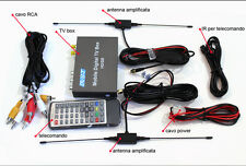Decoder DVB-T TV digitale per le auto 20Db TV in movimento HDMI doppia antenna