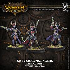 Warmachine BNIB Cryx Satyxis Gunslingers (3) 34132
