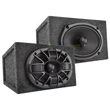 """2 Orion 6x9"""" Coaxial Speakers Max Power 450 Watts 4 Ohm with Enclosures Package"""