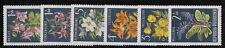 AUSTRIA   1966     Flowers    MNH-VF  #  Y.T.   1044-9