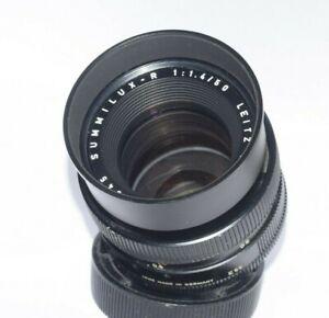 Lens Leica Summilux R 1.4/50mm  E55  For Leica R