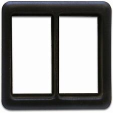 Switch Bezel Frame for 2 Switches AutoLoc AUTCASEY rat truck muscle hot rod