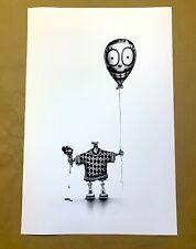 PEZ Pierre Yves Riveau BALLOON BOY Art Print lies graffiti poster hiroshima