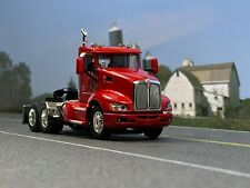 1/64 DCP RED T660 KENWORTH DAY CAB