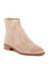 Diane von Furstenberg Jena Chelsea Bootie- Size 7.5- Beige- $348