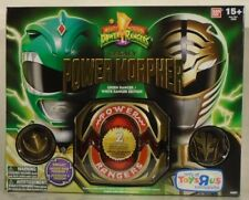 Mighty Morphin Power Rangers Legacy Electronic Morpher White & Green Toys R Us