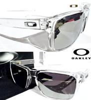 3b1cf9958b NEW  Oakley HOLBROOK CLEAR w POLARIZED PRIZM Black Iridium Lens Sunglass  9102