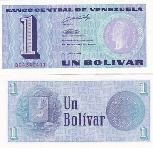 Venezuela - 1 Bolivar 1989 Pick 68 UNC Lemberg-Zp