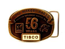 Vintage TISCO 5 Years All Makes All Parts  Belt Buckle