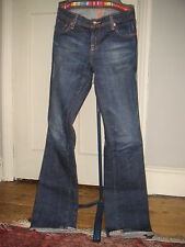 Authentic Seven for all Mankind hipster boot cut jeans, s.27